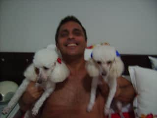 Me and my dogs.