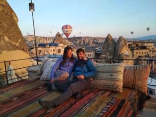 Travelling in Turkey - Cappadocia