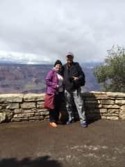 Allan and Allan, South Rim, Grand Canyon