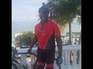 Biking trip in Dominican Republic.