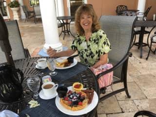 Weekend birthday trip to Safety Harbor, FL 10/18