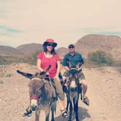 Amy and Derrick in Mexico