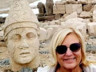 Travelling in Turkey, Mount Nemrut