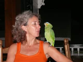 Tina in conversation with Atèn