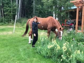 I had horses growing up!