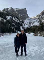 Hiking in Estes Park, Colorado!