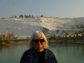 Joy at Pamulkale, Turkey