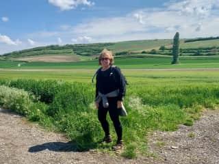 REI hike from Vienna to Prague, 2019.