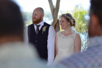 Our handfasting ceremony in Perth