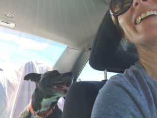 Michele and Sweet Pea (fospice, terminal medical condition), final big adventure