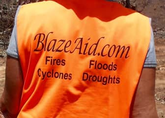 I volunteer with blazeaid when ever I can