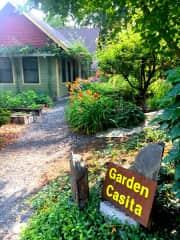 Our Airbnb - The Garden Casita