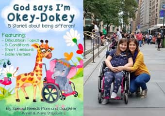 We write inclusive children's books about animals with special needs