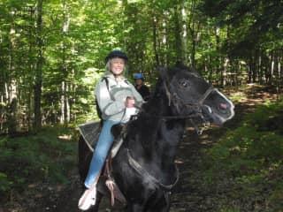 Love horses too!