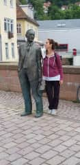 With Hermann Hesse in my home country Germany