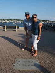 Laurie and Bill in Marblehead, MA