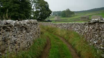 Love the views traipsing along country paths.  This one is in the Yorkshire Dales.