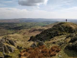 A local hill (Stickle Pike)