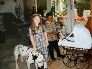 i loved this dalmatian dog!!! in memory betty...
