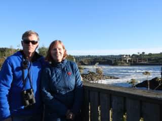 Robyn and Tamara in New Brunswick, Canada