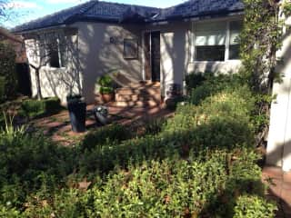 Our house in Canberra