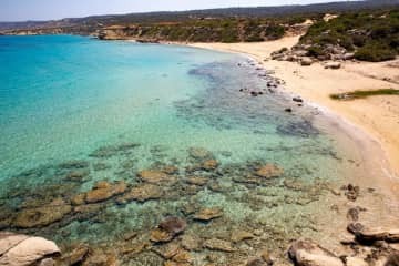 We love beaches too - this is in Cyprus