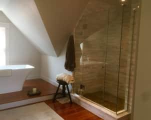 Top floor bath