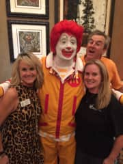 Volunteering for charitable causes like the Ronald McDonald house in Fort Worth, Tx.