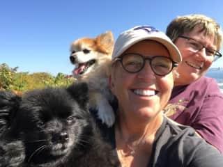 Foxy, Rita, Colleen & Sandra in Portland Maine