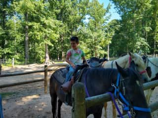 Family trail ride