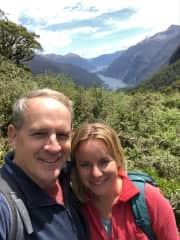 Hiking near Doubtful Sound, Southland, New Zealand - we love hiking !
