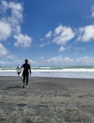 Liam is a passionate surfer