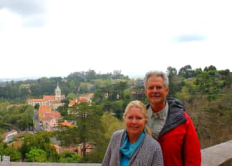 If you've never visited Sintra, Portugal--you must.  It is truly amazing and magical.