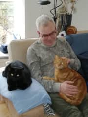 Victor with Nera and Tiber