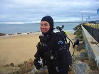 Scuba diving in Monterey Bay