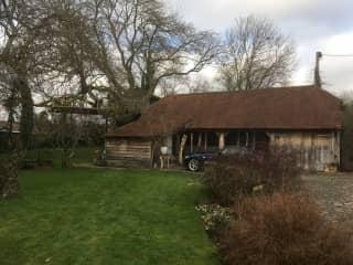 Party barn & treehouse
