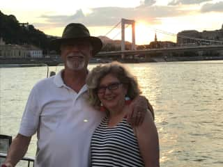 Jesse and Doris in Budapest in 2018.