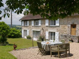 Our house in the Limousin, France.
