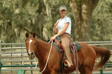 My beautiful horse Cherokee, we spent 23 wonderful years together.