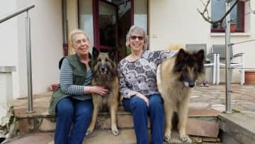 Judith, Huron, Ginny and Funky in Corbiel-Essone, FR