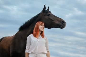 My horse Bafina
