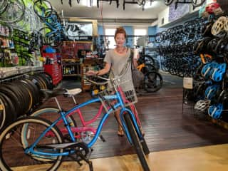 Gaslight District Bike Shop. Nothing like exploring a city on a bike. :)