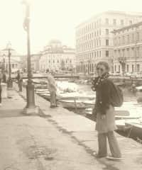me in Trieste, travelling :)