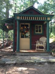 Potting shed is finally done.