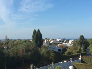 View South from the roof terrace