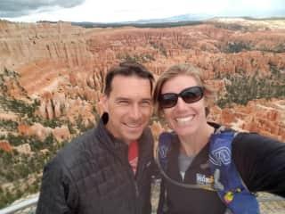 Hiking in Bryce Canyon Utah
