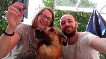Nadine, David ... and Uschi