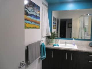 Shower room (opposite guest bedroom).