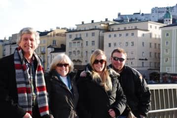 Floyd, Mary, Kimberly, Steve-in Germany