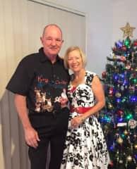 Terry & Dawn . Christmas 2019